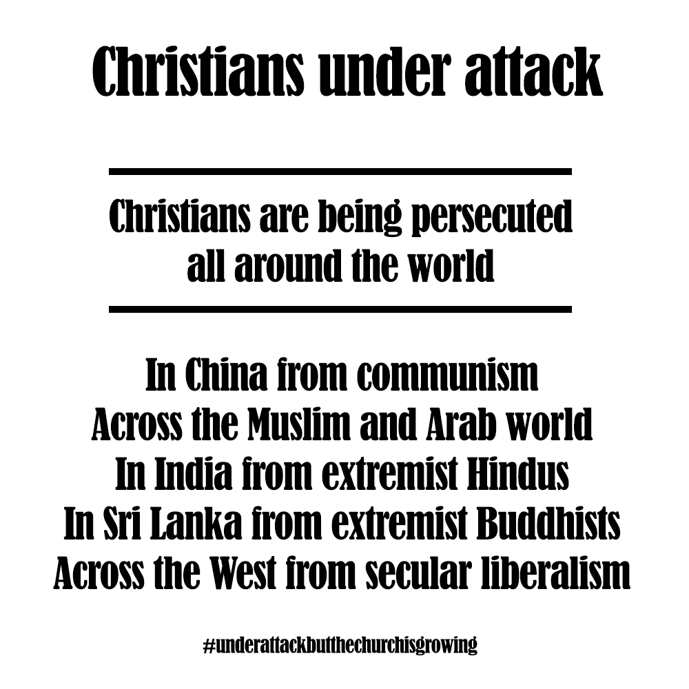 Christians under attack
